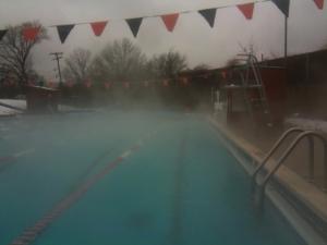 pool snow