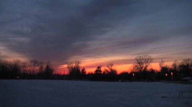 sunset 3-4-14 2
