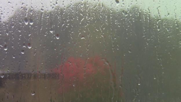 rain on Rockville campus